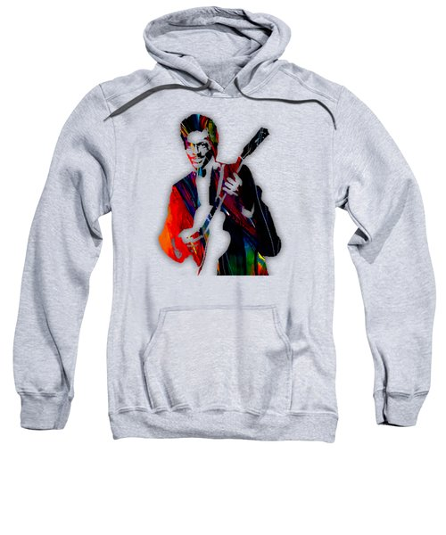 Chuck Berry Collection Sweatshirt by Marvin Blaine