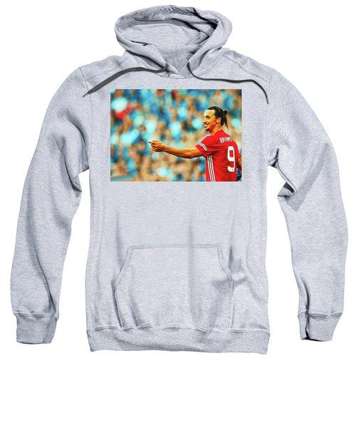 Manchester United's Zlatan Ibrahimovic Celebrates Sweatshirt by Don Kuing