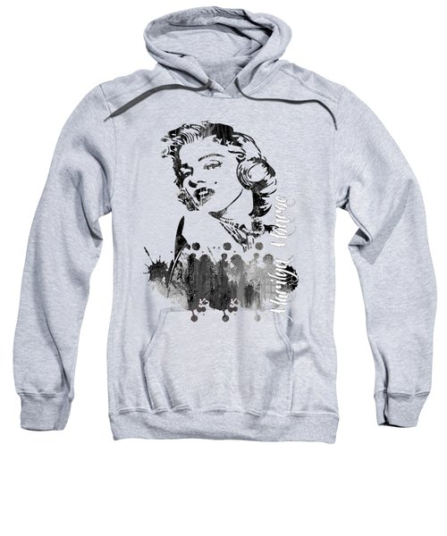 Marilyn Monroe Collection Sweatshirt by Marvin Blaine