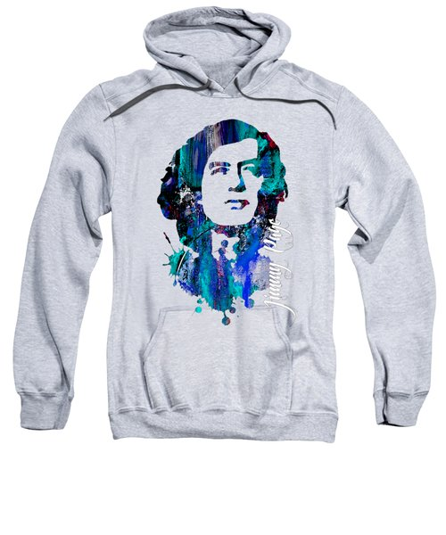 Jimmy Page Collection Sweatshirt by Marvin Blaine