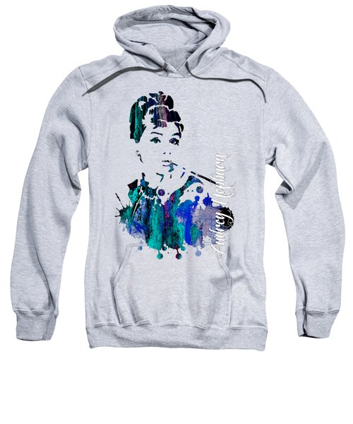Audrey Hepburn Collection Sweatshirt by Marvin Blaine