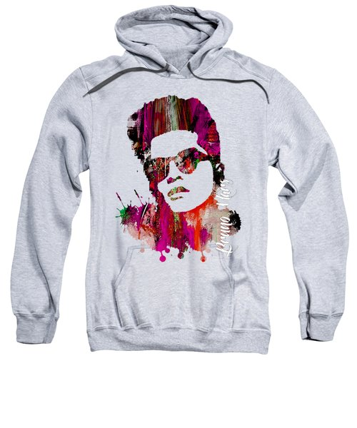 Bruno Mars Collection Sweatshirt by Marvin Blaine