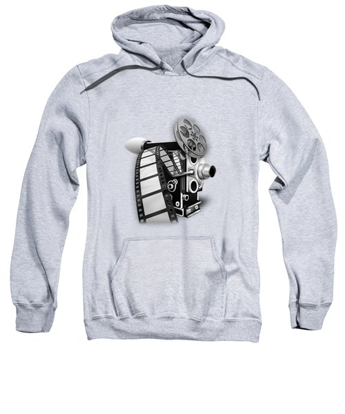 Movie Room Decor Collection Sweatshirt by Marvin Blaine