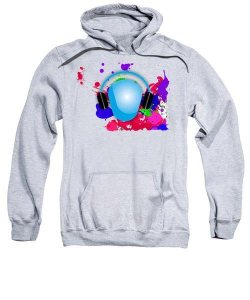 Music Sweatshirt by Marvin Blaine