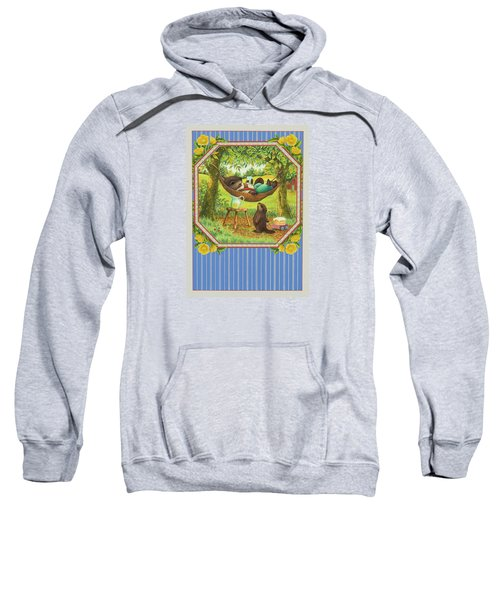 A Father's Day Treat Sweatshirt by Lynn Bywaters