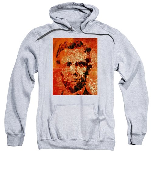 Abraham Lincoln 4d Sweatshirt by Brian Reaves