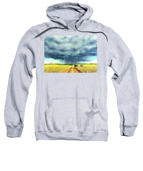 African Storm Sweatshirt by Tilly Willis