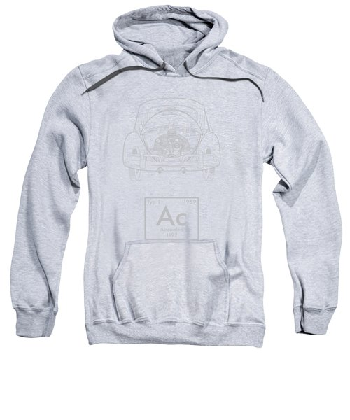 Aircooled Element - Beetle Sweatshirt by Ed Jackson