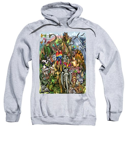 All Creatures Great Small Sweatshirt by Kevin Middleton