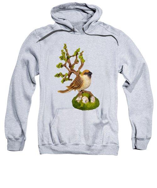 Arborescent Sparrow Sweatshirt by Przemyslaw Stanuch