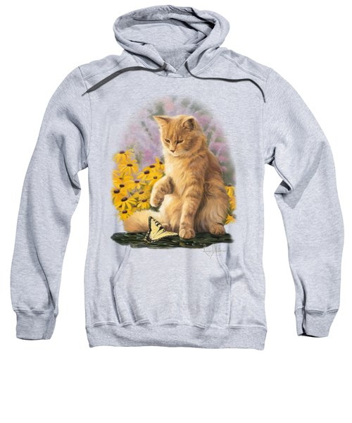 Archibald And Friend Sweatshirt by Lucie Bilodeau