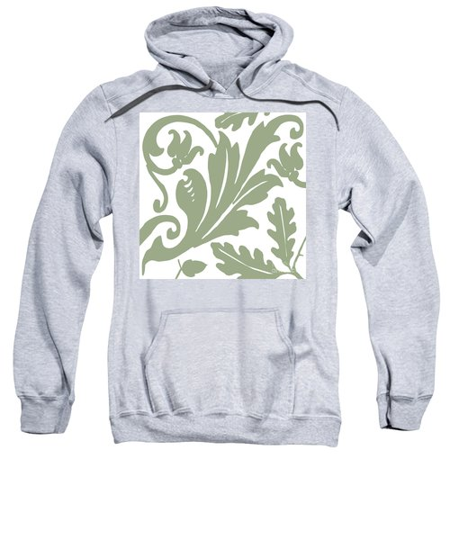 Arielle Olive Sweatshirt by Mindy Sommers
