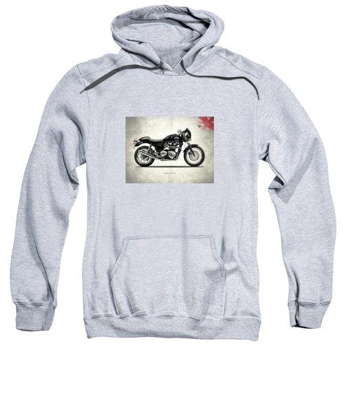 Triumph Thruxton Sweatshirt by Mark Rogan