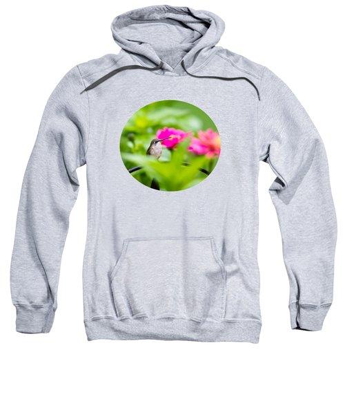 Pretty Garden Jewel Sweatshirt by Christina Rollo