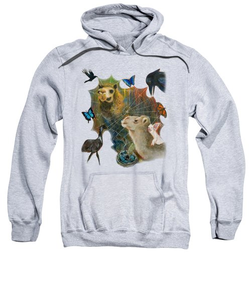 Sacred Journey Sweatshirt by Deborha Kerr