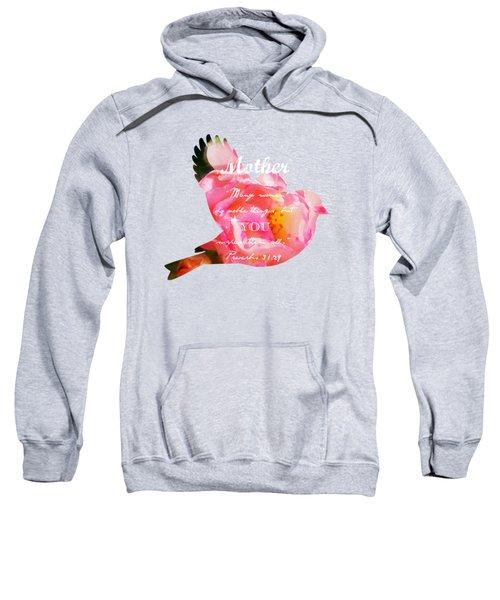 Roses - Verse Sweatshirt by Anita Faye