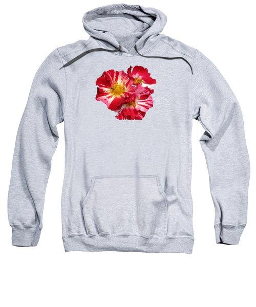 July 4th Rose Sweatshirt by M E Cieplinski