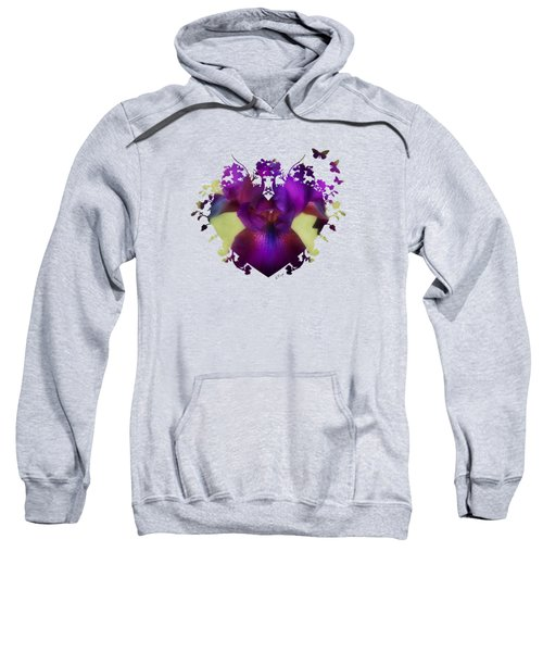 Deep Purple Sweatshirt by Anita Faye