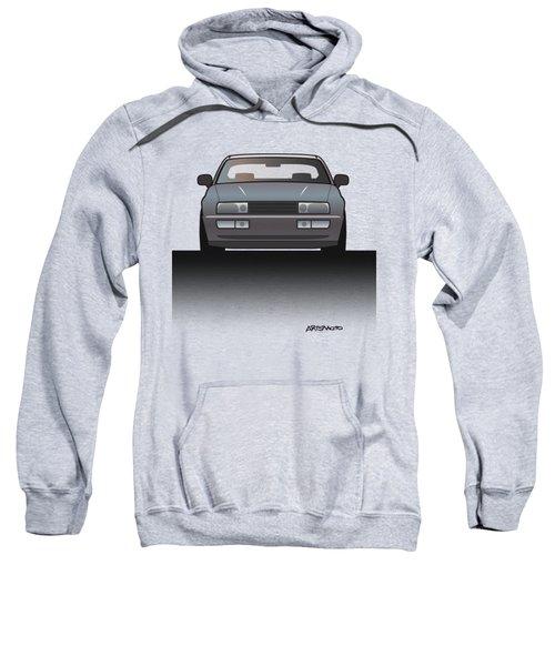 Modern Euro Icons Series Vw Corrado Vr6 Sweatshirt by Monkey Crisis On Mars
