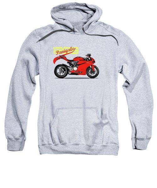 Ducati Panigale 1299 Sweatshirt by Mark Rogan