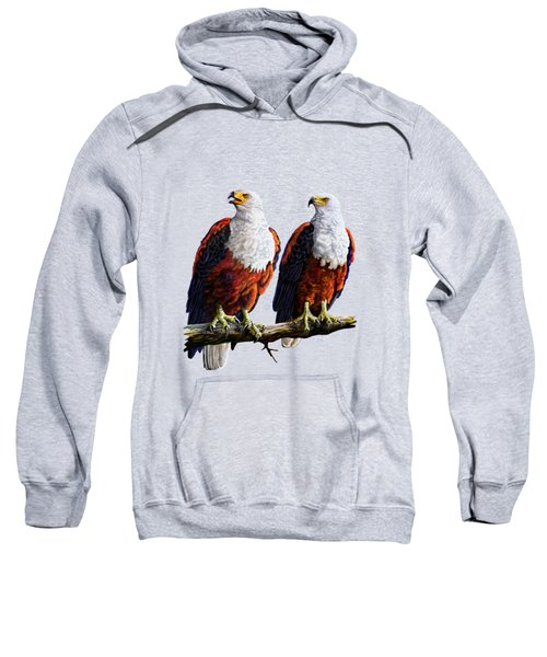 Friends Hanging Out Sweatshirt by Anthony Mwangi