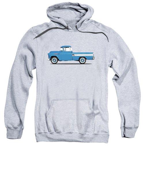 Cameo Pickup 1957 Sweatshirt by Mark Rogan