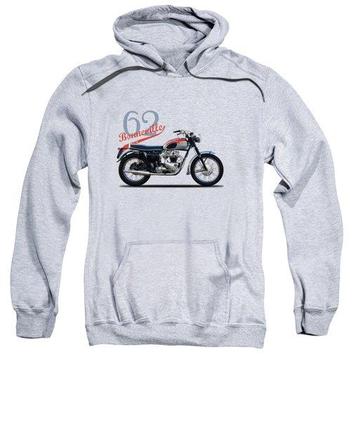 Bonneville T120 1962 Sweatshirt by Mark Rogan