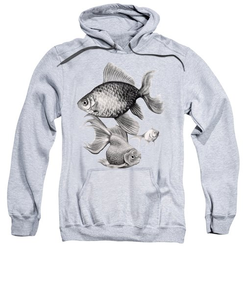 Goldfish Sweatshirt by Sarah Batalka