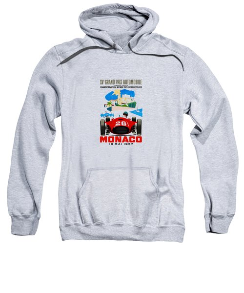 Monaco 1957 Sweatshirt by Mark Rogan