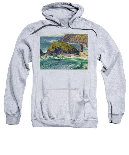 Asparagus Island Sweatshirt by William Holman Hunt
