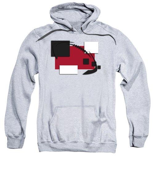 Atlanta Falcons Abstract Shirt Sweatshirt by Joe Hamilton