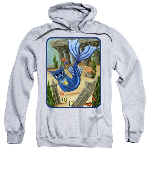 Atlantean Mercat Sweatshirt by Carrie Hawks
