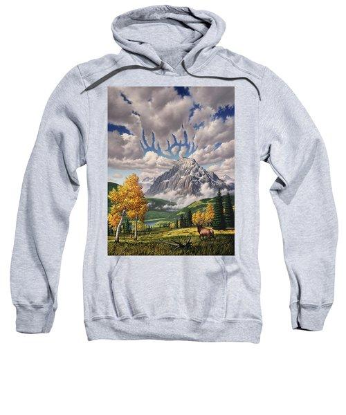 Autumn Echos Sweatshirt by Jerry LoFaro