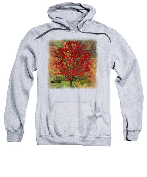 Autumn Scenic 2 Sweatshirt by John M Bailey
