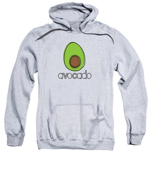 Avocado Sweatshirt by Monette Pangan