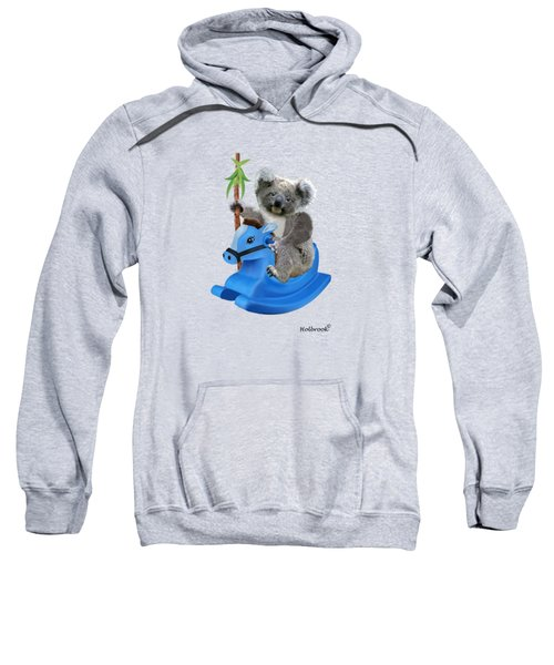 Baby Koala Buckaroo Sweatshirt by Glenn Holbrook