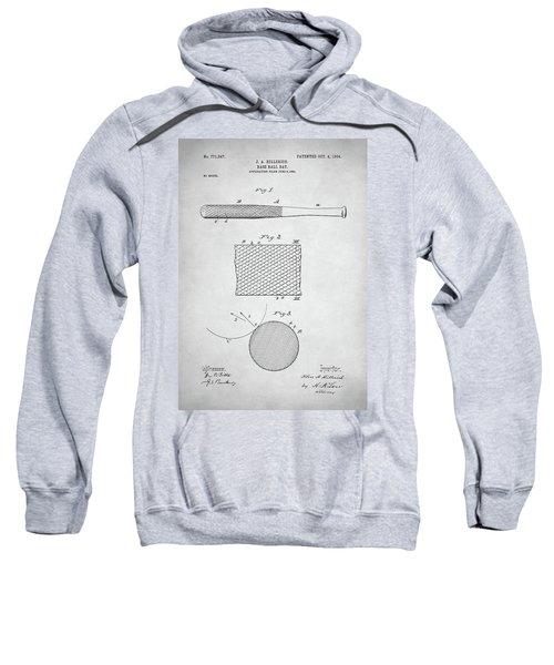 Baseball Bat Patent Sweatshirt by Taylan Apukovska