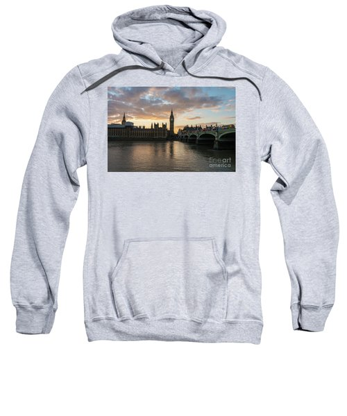 Big Ben London Sunset Sweatshirt by Mike Reid