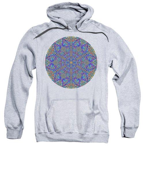Blue Bird Happy Dance Sweatshirt by John Groves