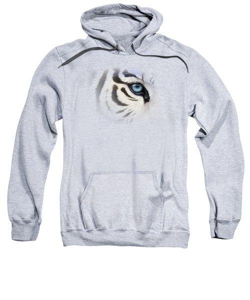 Blue Eye Sweatshirt by Lucie Bilodeau