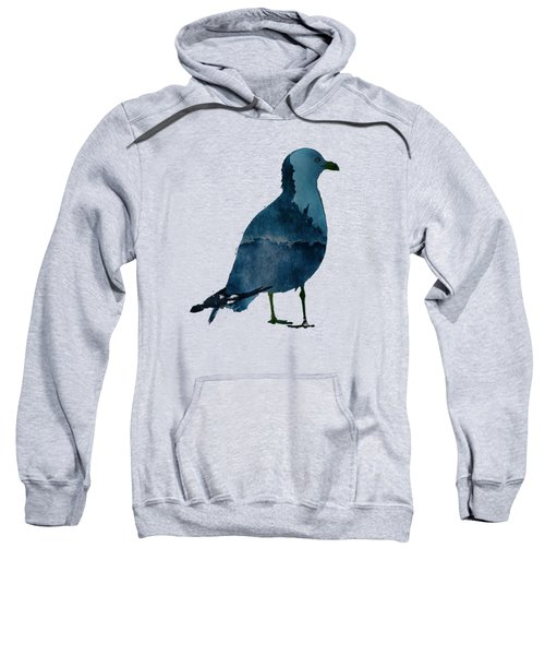 Bluegull Of Art T-shirt Sweatshirt by Majula Warmoth