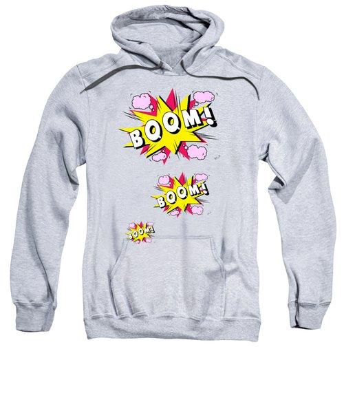 Boom Comics Sweatshirt by Mark Ashkenazi