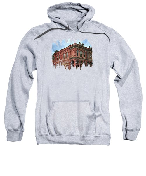 Boomtown Saloon Jacksonville Oregon Sweatshirt by Thom Zehrfeld