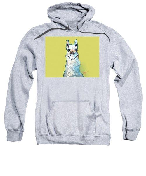 Bright Mustard Llama Sweatshirt by Niya Christine