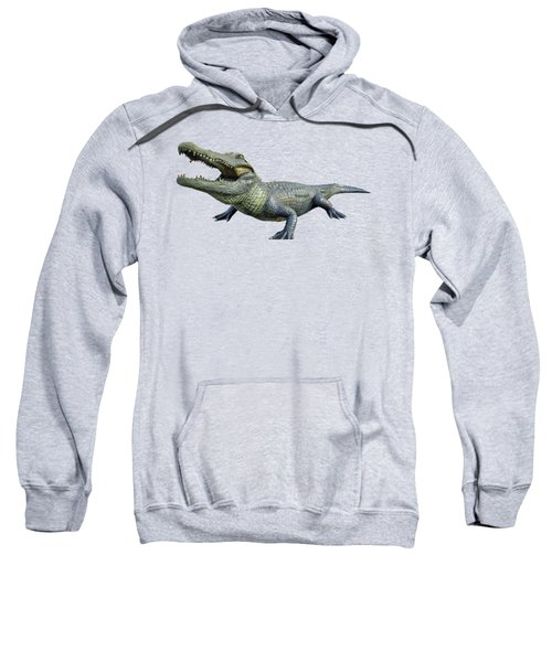 Bull Gator Transparent For T Shirts Sweatshirt by D Hackett