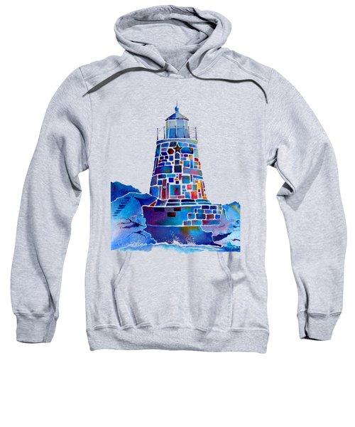 Castle Hill Newport Lighthouse Sweatshirt by Jo Lynch