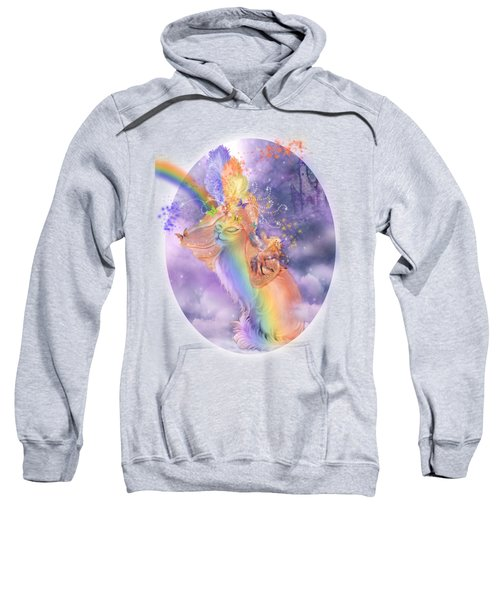 Cat In The Dreaming Hat Sweatshirt by Carol Cavalaris