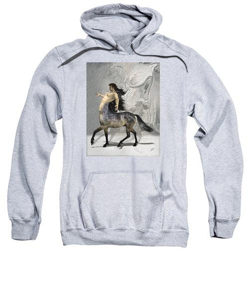 Centaur Warm Tones Sweatshirt by Quim Abella