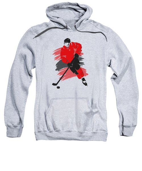 Chicago Blackhawks Player Shirt Sweatshirt by Joe Hamilton