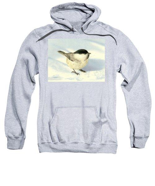 Chilly Chickadee Sweatshirt by Sarah Batalka